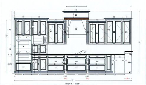 Computer Generated Drawings For Kitchen Bath Remodeling In Clearwater Tampa St Pete Fl