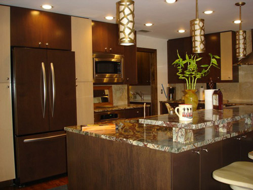 contemporary kitchen design - Contemporary Kitchen Cabinets Design